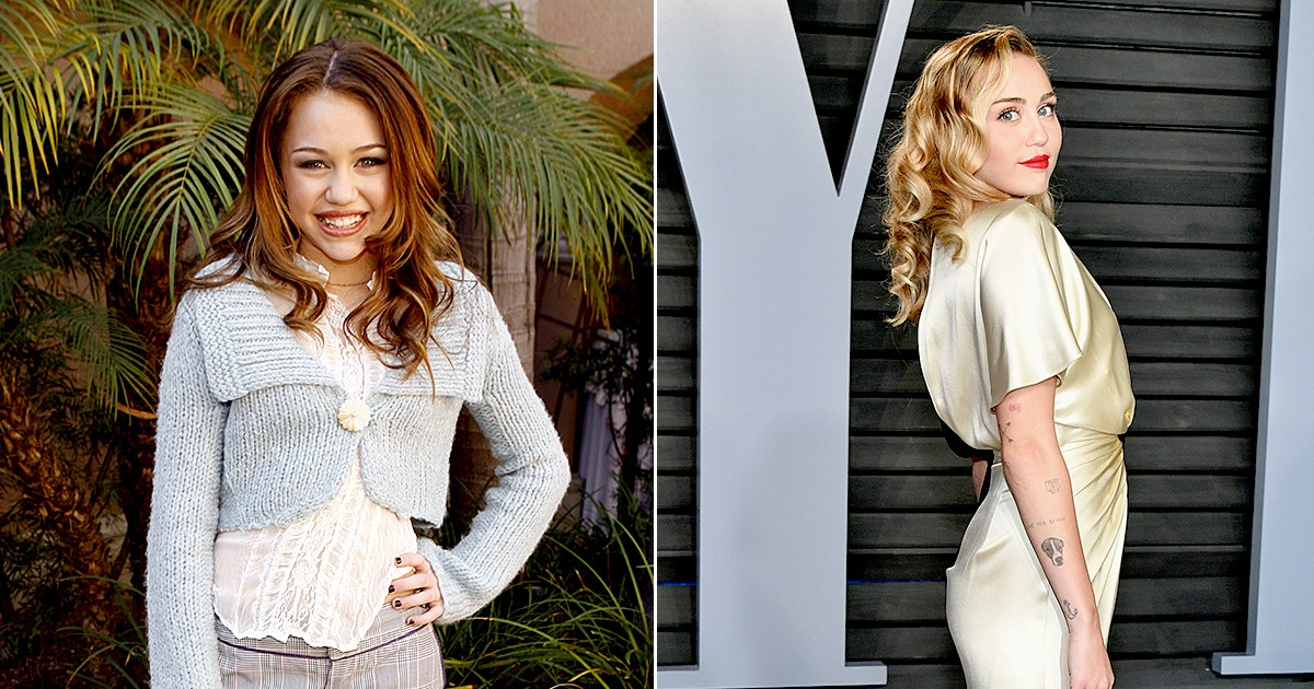 Miley Cyrus Through the Years From 'Hannah Montana' to World Tours