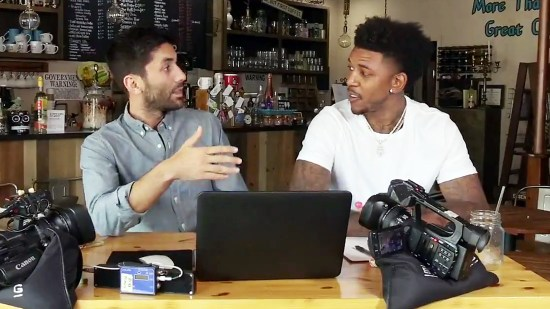 Nev Schulman Nick Young Rich Dollaz Love & Hip Hop Star Instagram Catfish