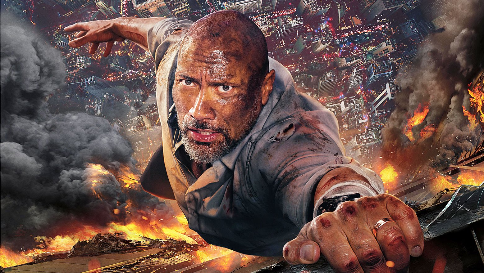 Dwayne Johnson The Rock Skyscraper Worst Movies of 2018