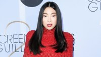 A Behind-the-Scenes Look at Awkwafina's Red Hot Makeup