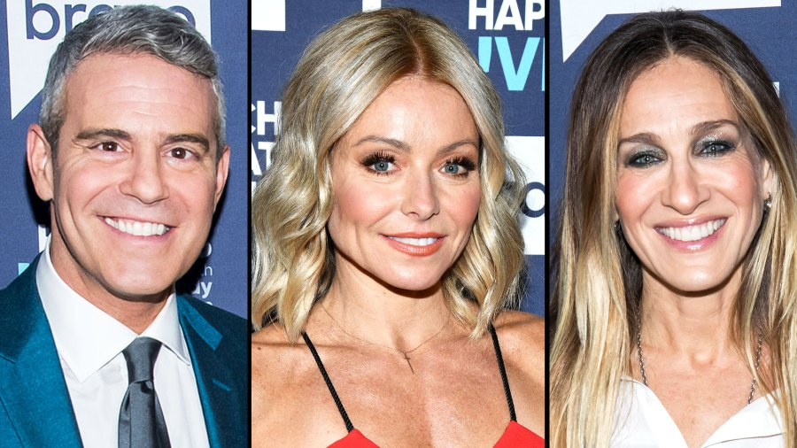 Andy Cohen Has 'Equally Epic' East Coast Baby Shower With Kelly Ripa and Sarah Jessica Parker