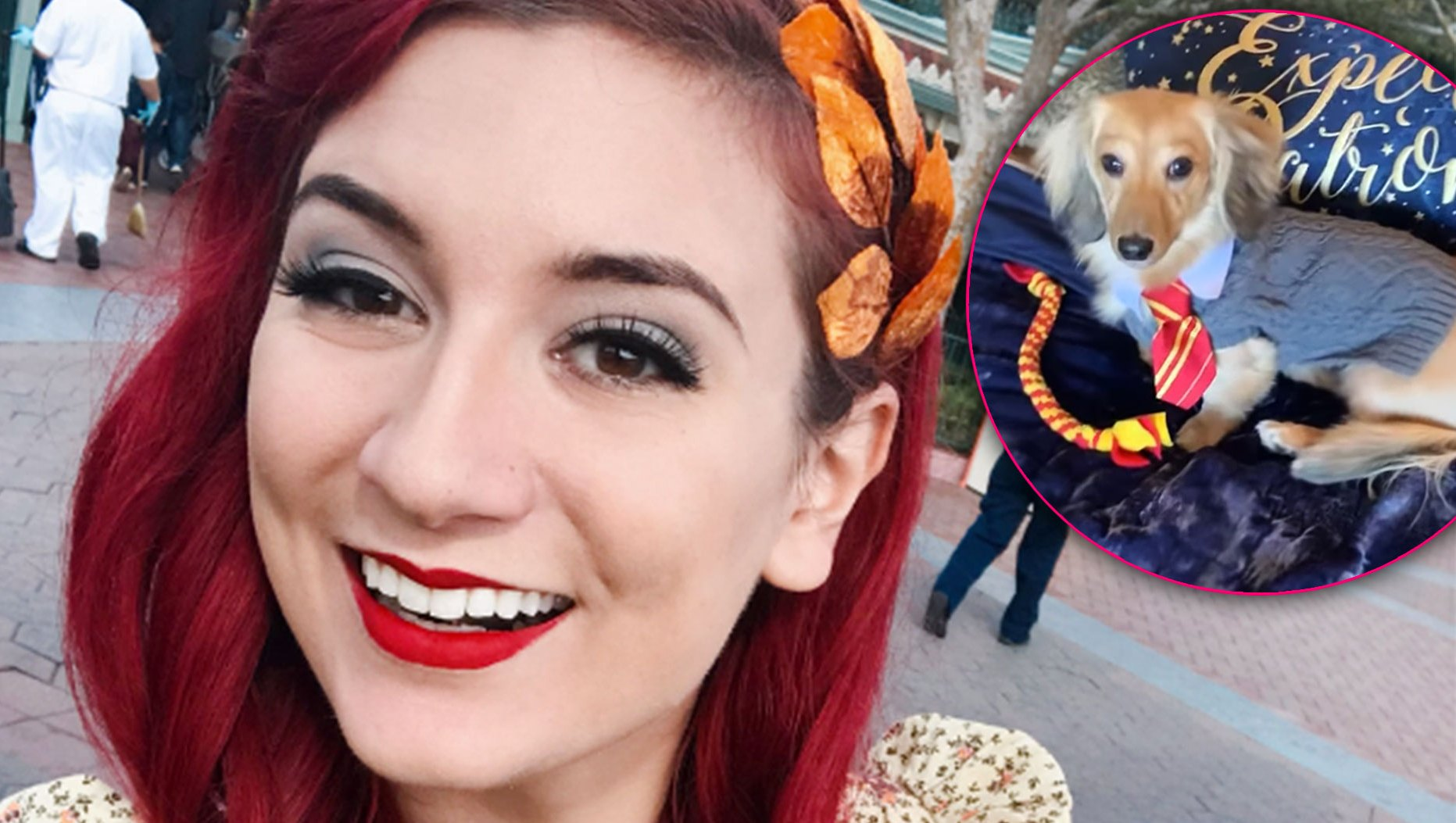 Actor and YouTuber Anna Brisbin Taught Her Dog to Respond to the Cutest Harry Potter Commands!