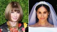 Anna Wintour Thoughts Duchess Meghan Wedding Dress