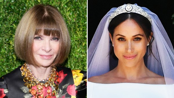 Anna Wintour Thoughts Duchess Meghan Wedding Dress