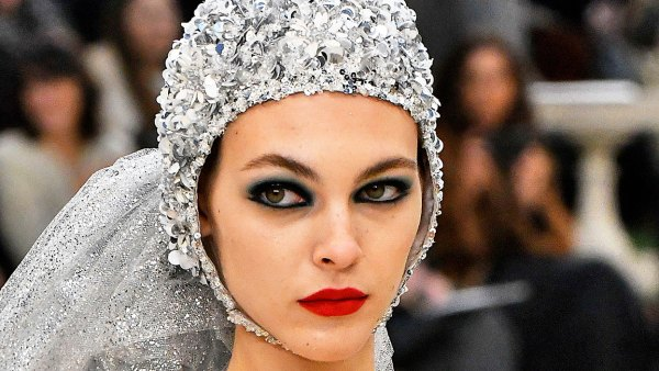 Vittoria Ceretti Chanel Reinvents the Wedding Dress as a ... Swimsuit