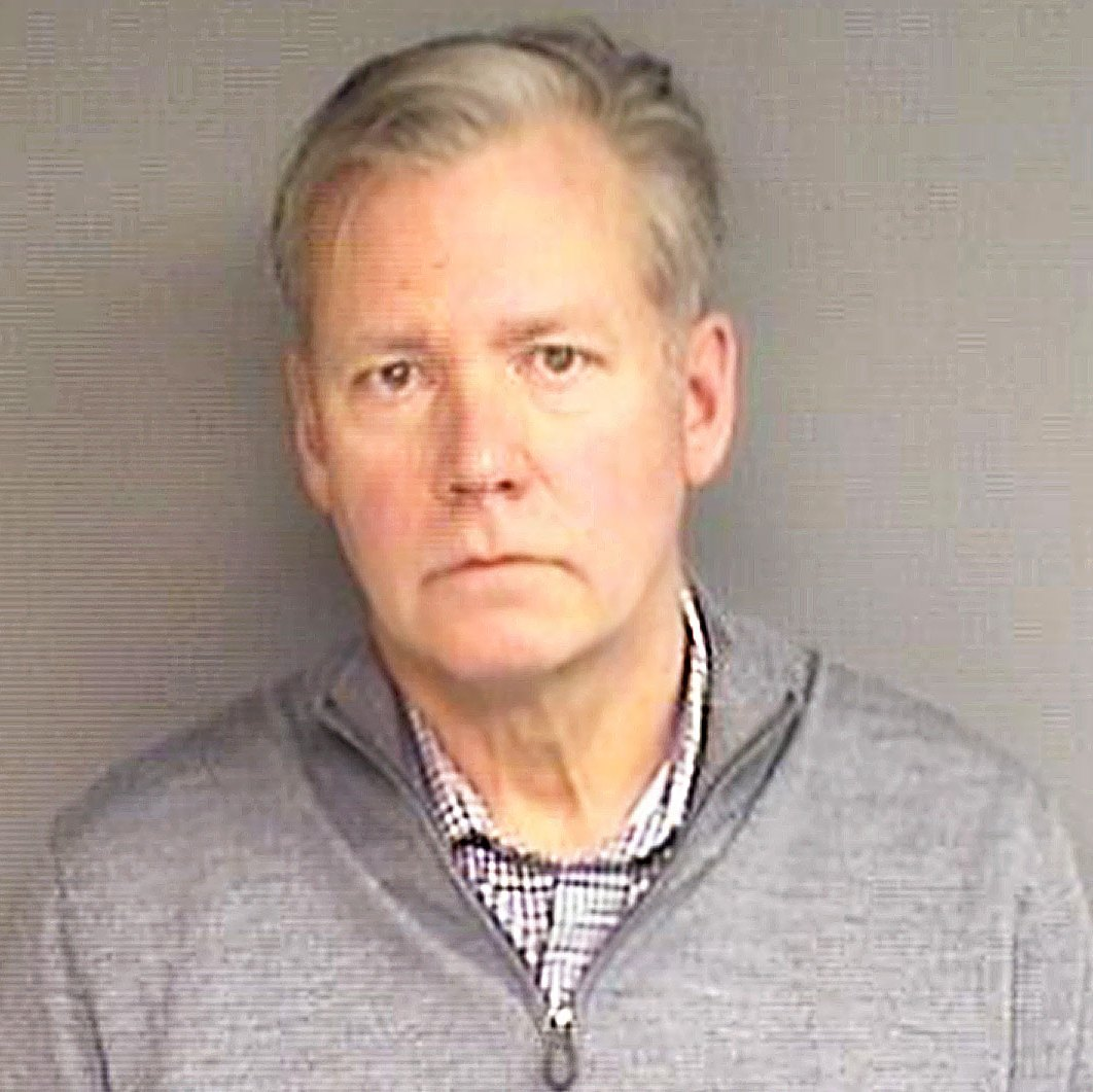 Chris Hansen Mugshot Arrested Bouncing Checks