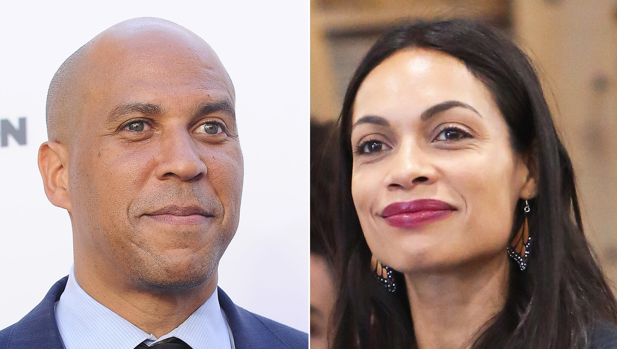 Cory Booker and Rosario Dawson Seen 'Holding Hands' at Theater Amid Dating Rumors