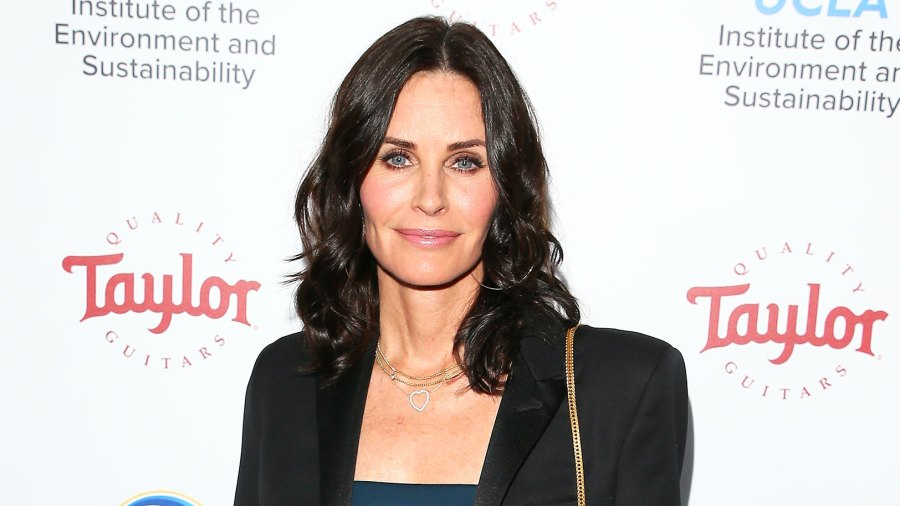 Courteney Cox Joins Instagram Friends Reunion
