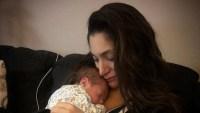 Deena Nicole Cortese and son Christopher