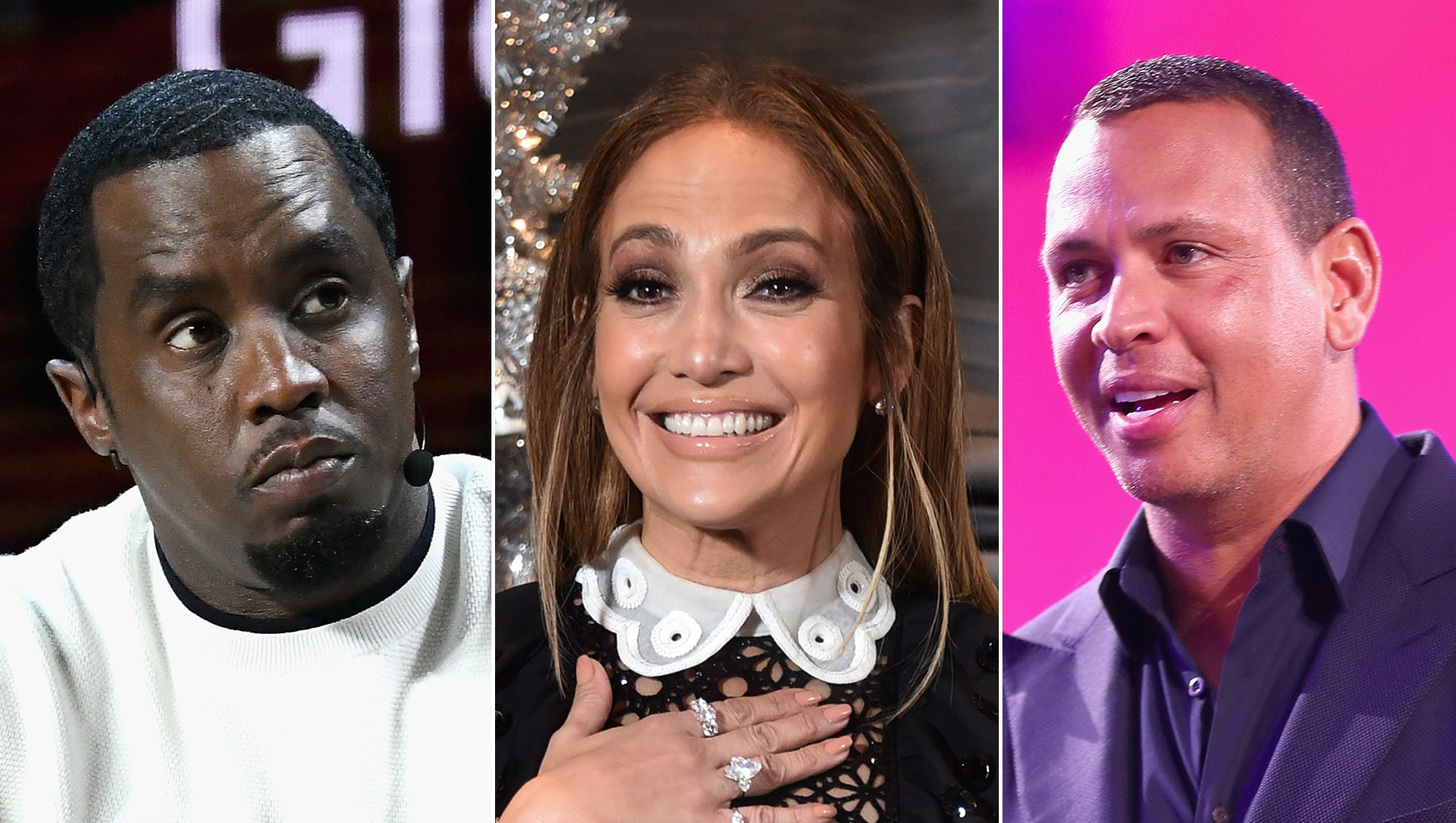 Diddy and A-Rod Comment on J.Lo's Abs Photo During Her 10-Day Sugar Challenge