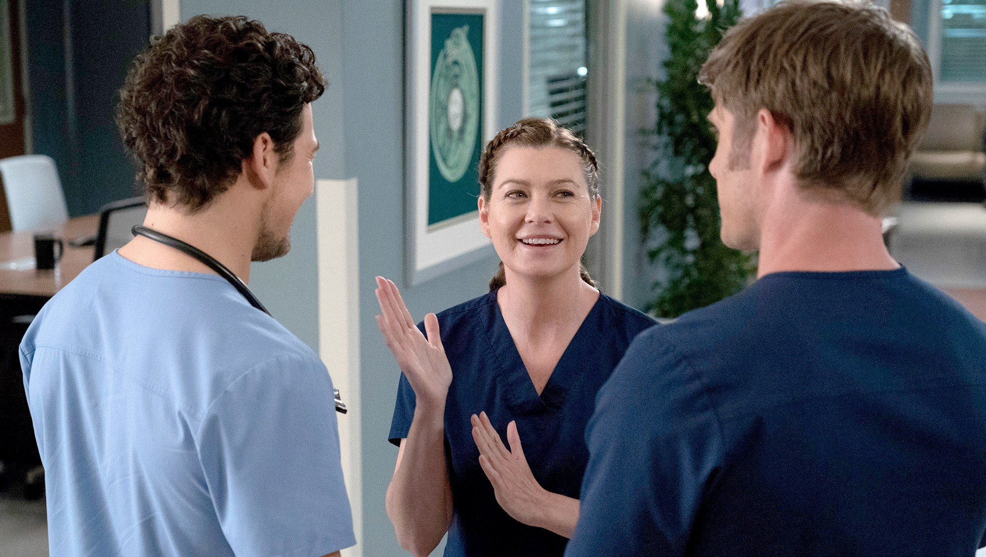 Ellen Pompeo on Grey's Anatomy
