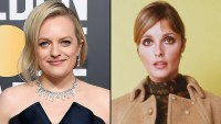 Elisabeth Moss Sharon Tate 2019 Golden Globes Look