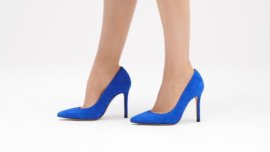 Fern Poolside Blue Heels