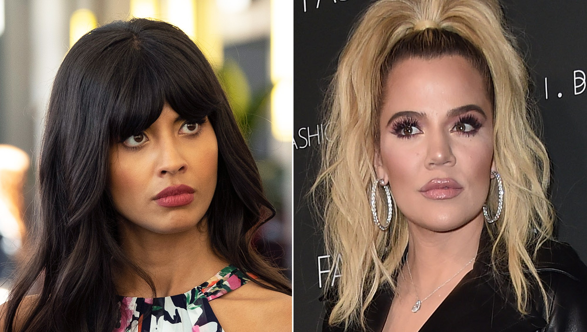 Jameela Jamil Calls Khloe Kardashian's Weight Loss Post 'Sad': 'This Poor Woman'