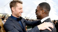 Justin-Hartley-and-Sterling-K.-Brown-SAG-awards-2019