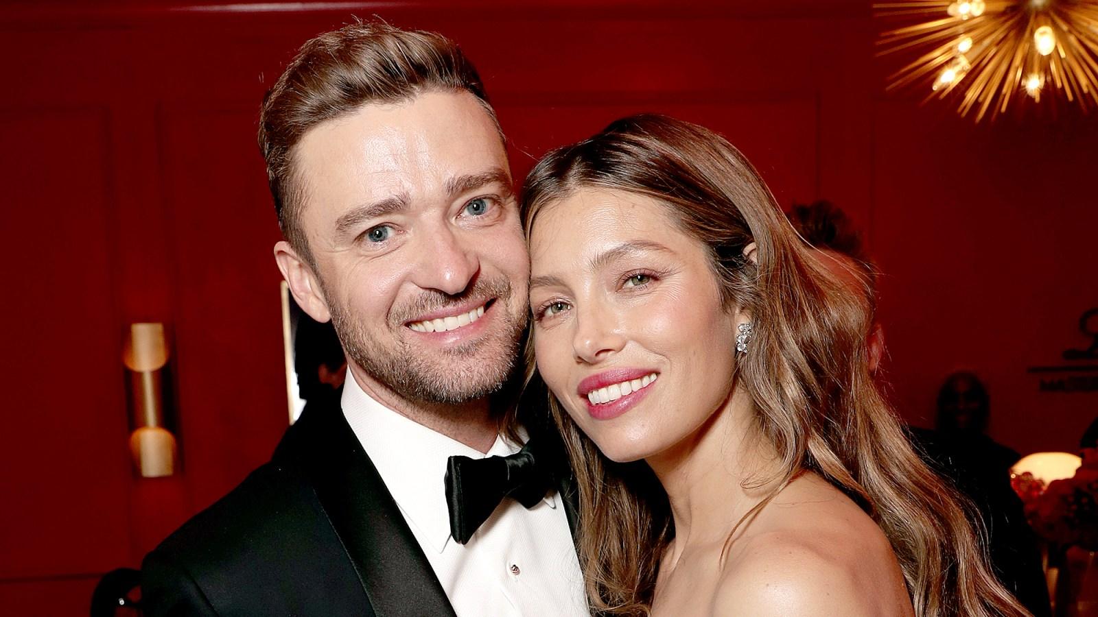 e7eda82bf76 Jessica Biel Takes a Quick Nap on the Way to Celebrate Justin Timberlake s  Birthday  Watch!