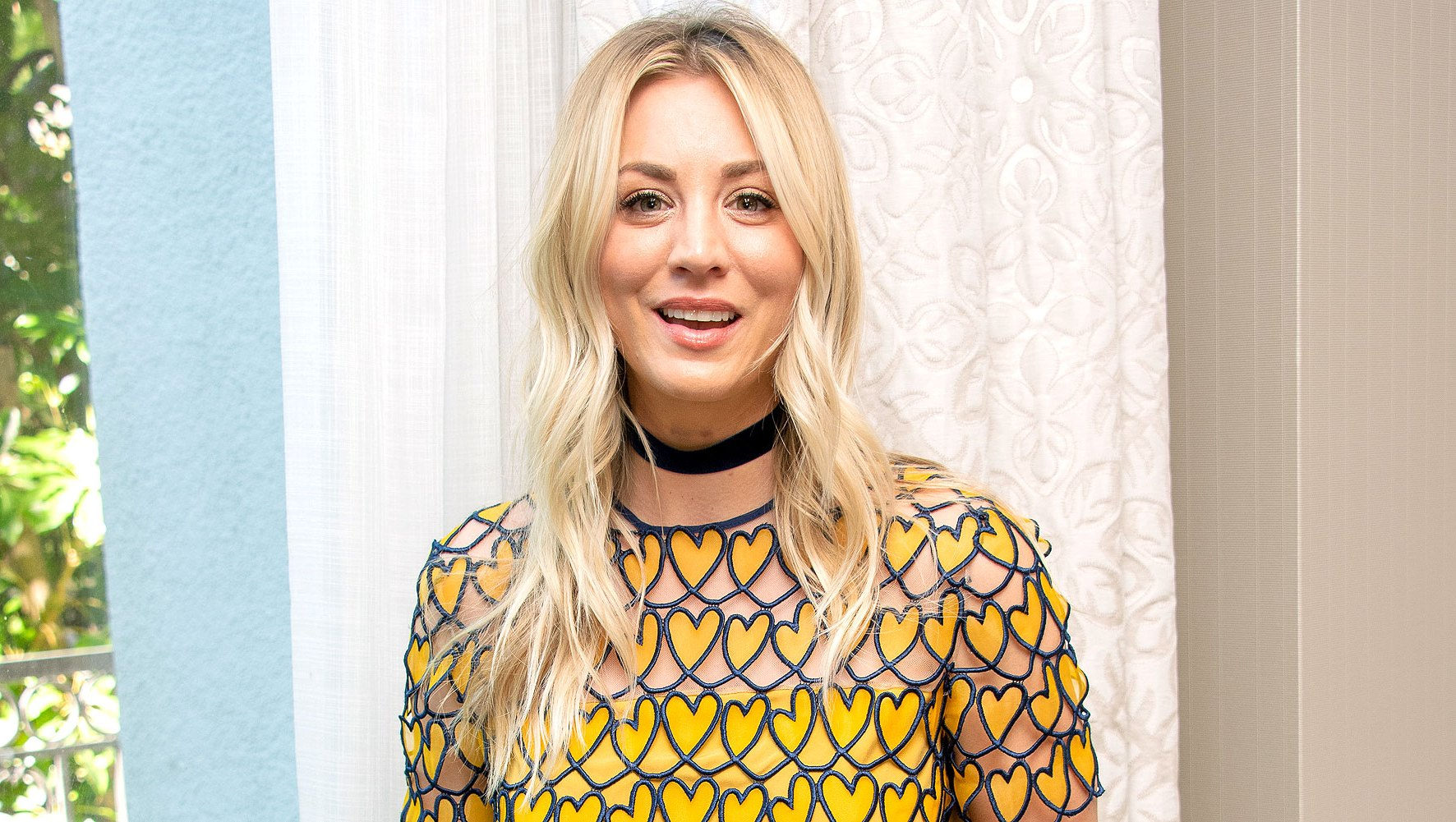 Kaley Cuoco Bunny and Dog Have a Super Sweet Playdate