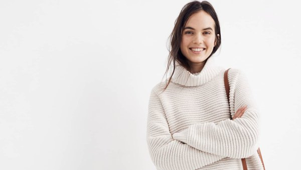 Madewell-Side-Button-Turtleneck-Sweater