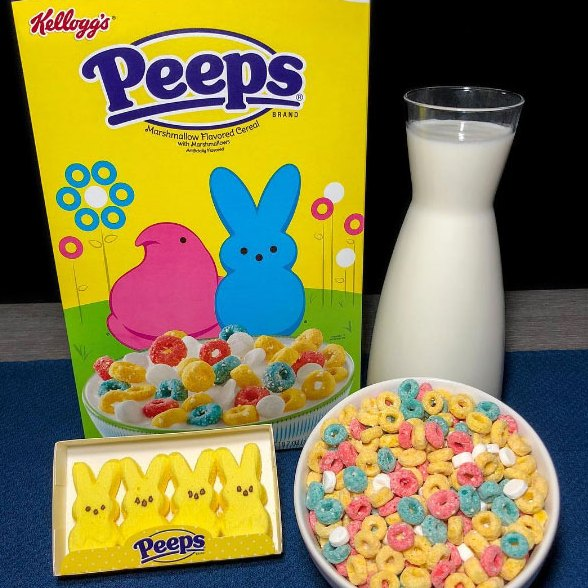 Peeps Cereal Is a Marshmallow Lover's Dream