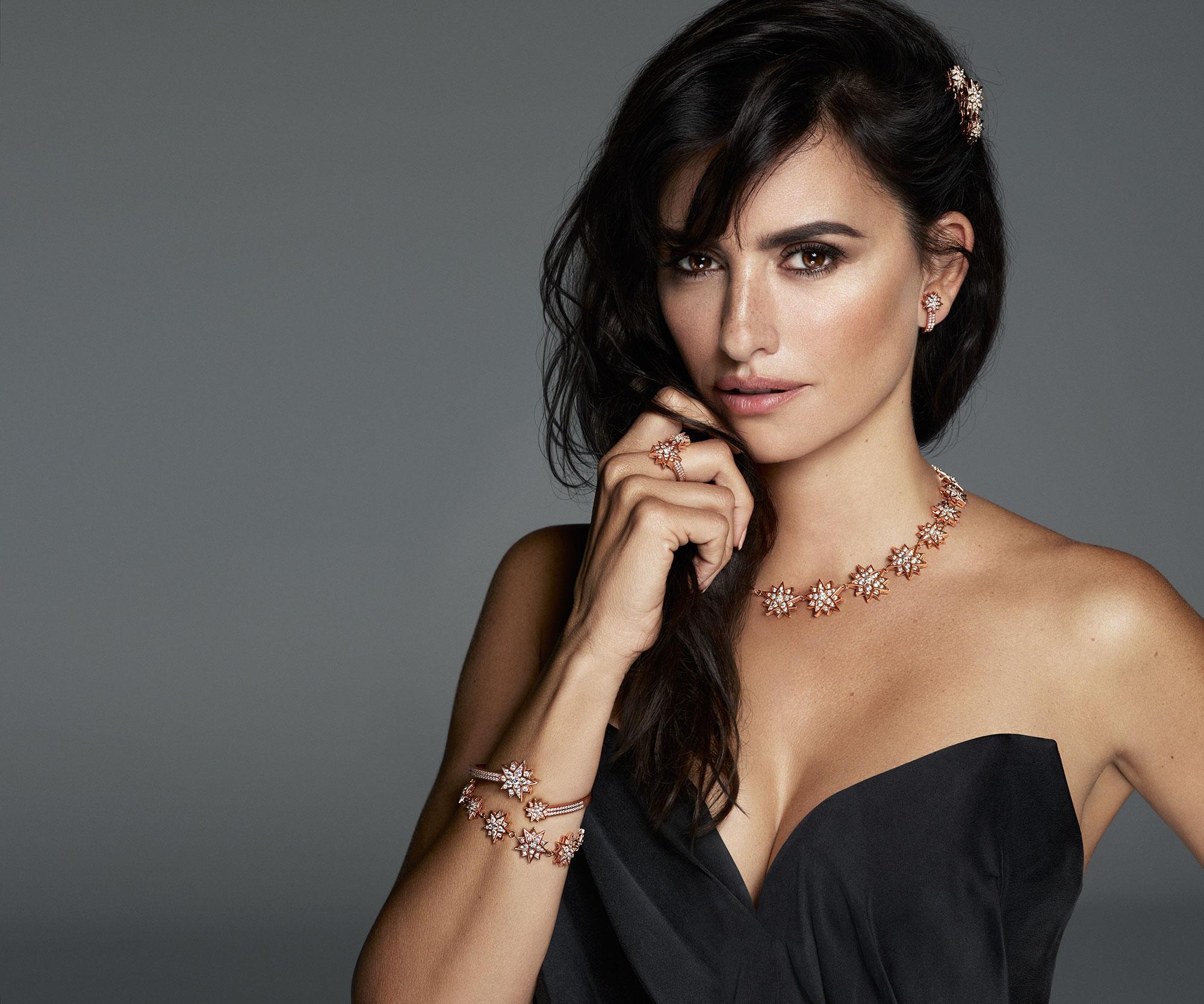 Penelope Cruz Stars in SS-19 Atelier Swarovski Jewelry Campaign: Pics
