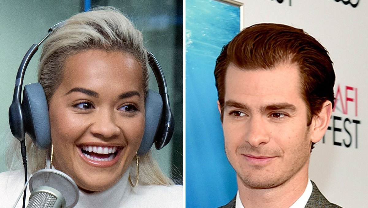 Rita Ora Dodges Question About Andrew Garfield