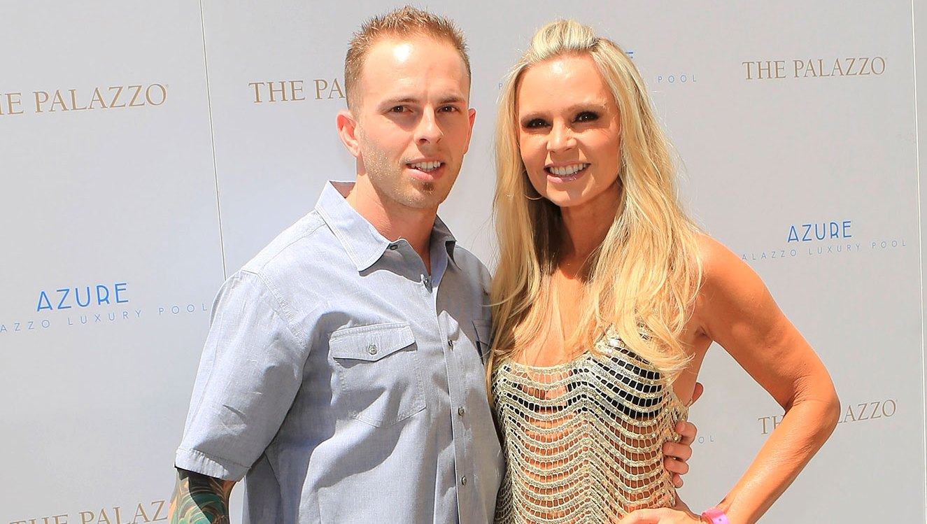 Tamra Barney (R) and son Ryan Vieth