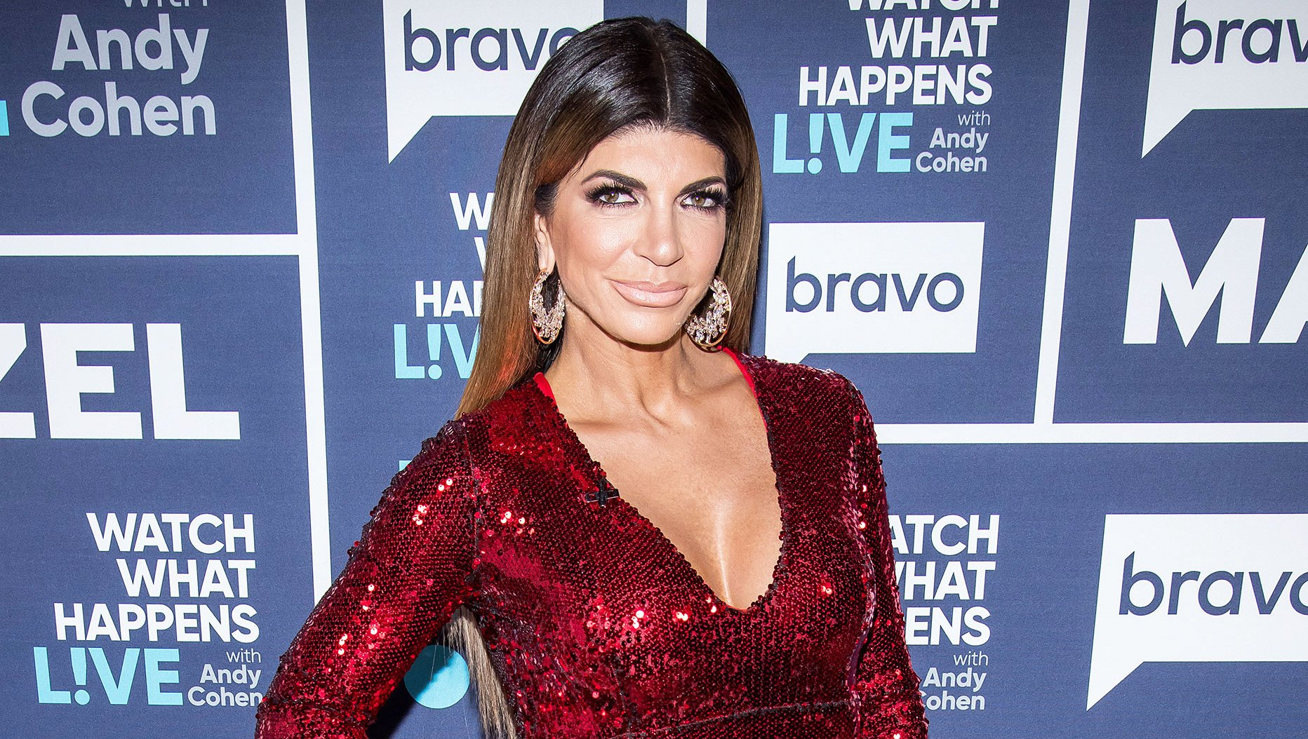 Teresa Giudice Flirts Mystery Man New Years Eve Miami