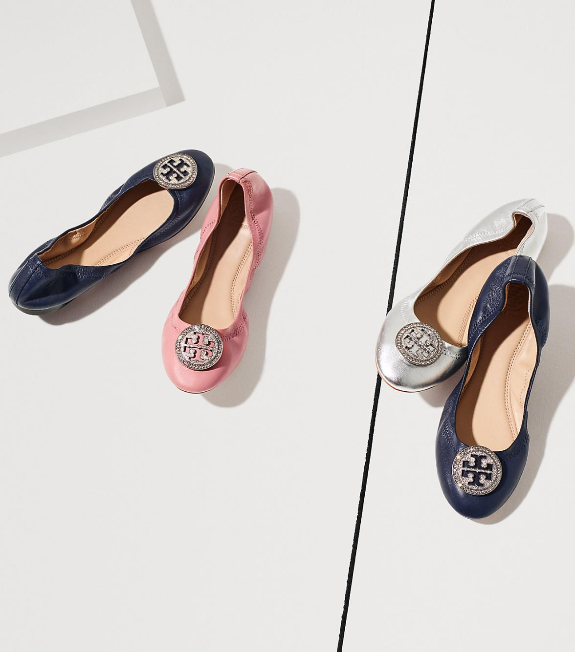 Tory Burch Ballet Flats In Every Color