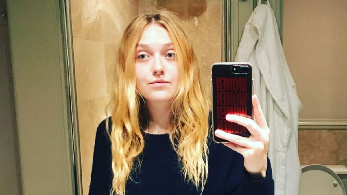 Dakota Fanning Wore Pants With Two Waistbands and We're Kind of Into It