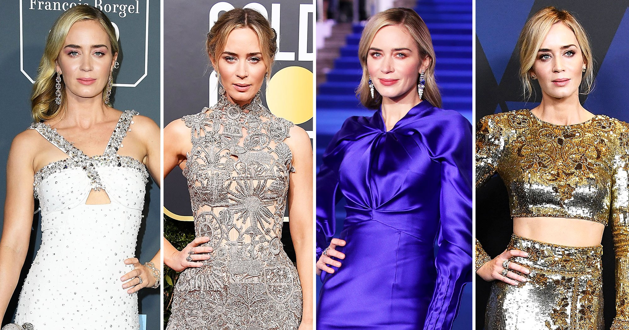 Emily Blunt Is a True Hollywood Style Star: See Her Best Red Carpet Looks