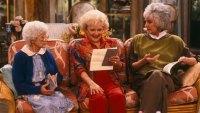 THE GOLDEN GIRLS - 9/24/85 - 9/24/92, ESTELLE GETTY, BETTY WHITE, and BEA ARTHUR
