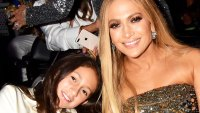 Jennifer Lopez, with daughter Emme
