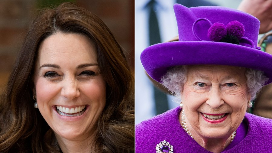 Duchess Kate Answers Little Girl's Question: Does the Queen Eat Pizza?!