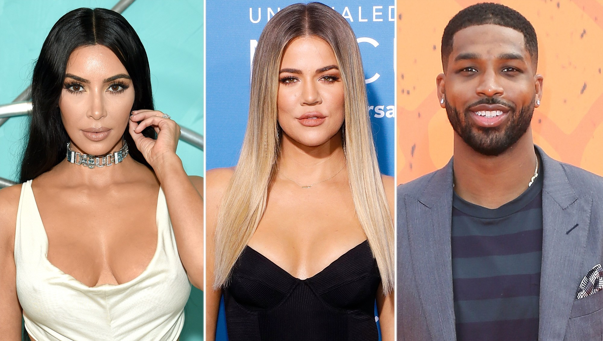 Kim Kardashian Accidentally Calls Khloe Kardashian an 'Idiot' for Staying With Tristan Thompson After Cheating Scandal