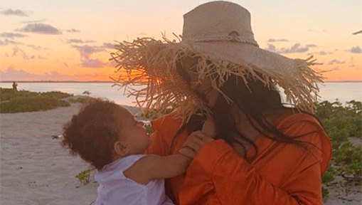 Kylie Jenner Kicks Off Stormi Webster's 1st Birthday Early With Tropical 'Adventures'