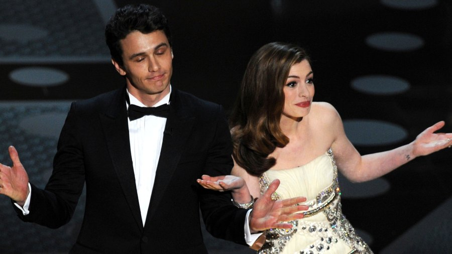Anne Hathaway Jokes About Hosting Oscars With James Franco