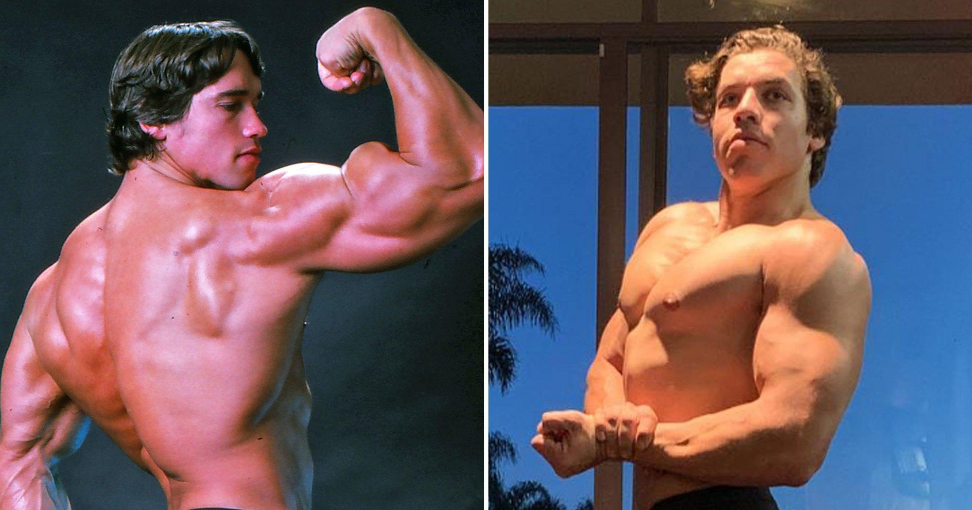 Arnold Schwarzenegger Gives Son Joseph Bodybuilding Advice