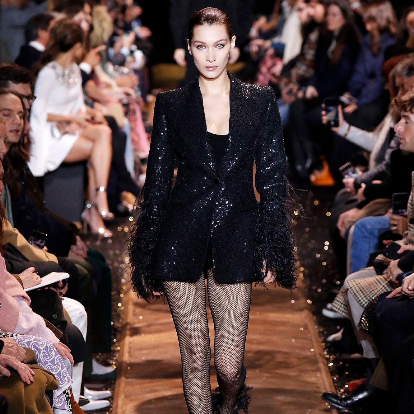 Bella Hadid's NYFW Runway Looks May Be Her Fiercest Yet