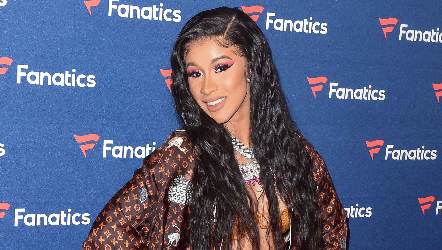 Cardi B Freaks Out When Daughter Kulture Says Mama