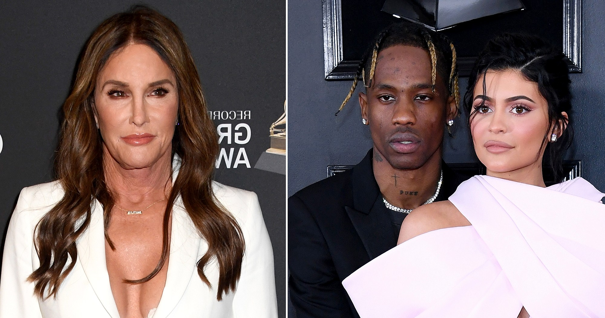 Caitlyn Jenner Shows 'Love and Support' for Kylie, Travis Scott During Grammys