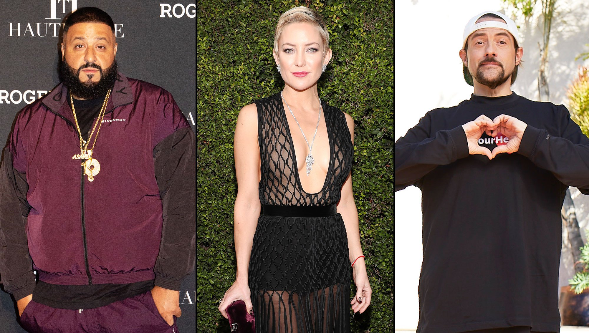 DJ Khaled Kate Hudson Kevin Smith Weight Loss