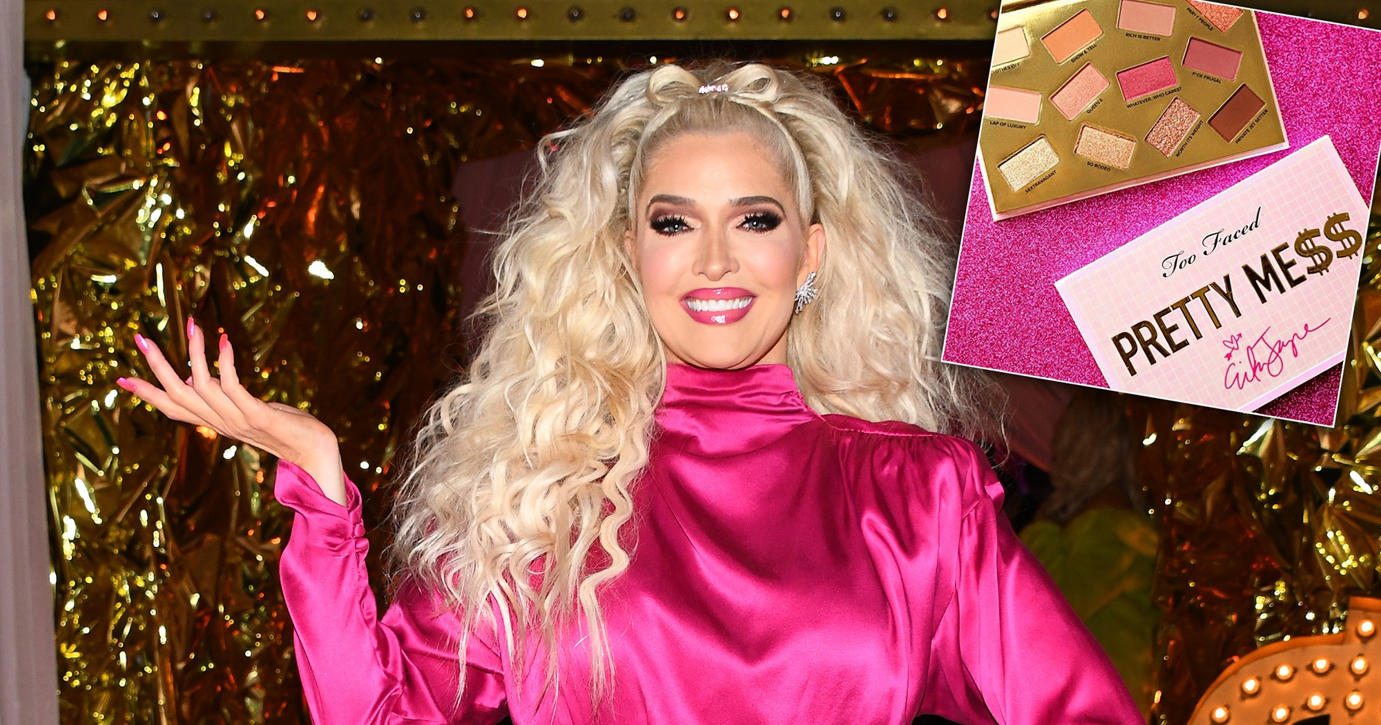 Erika Jayne Tells Us All About Her New Too Faced Collab