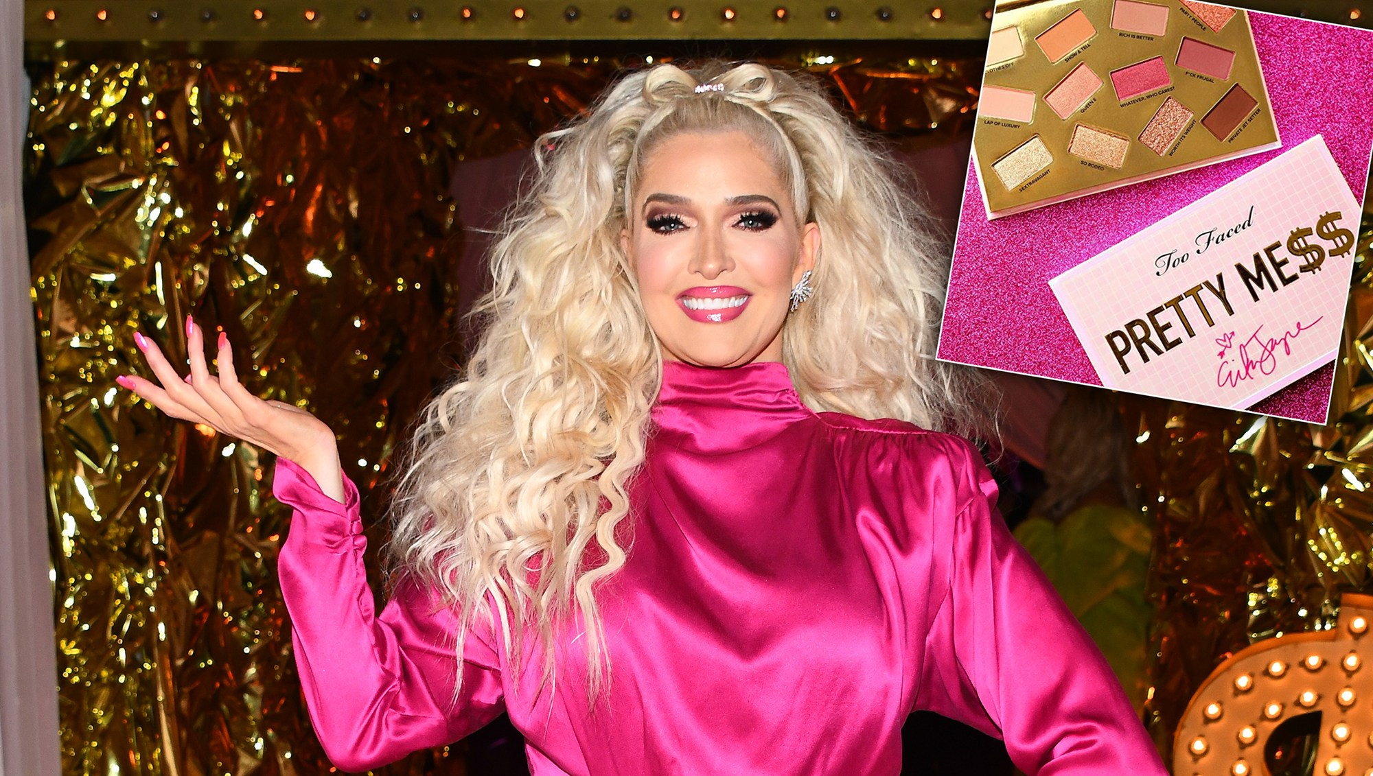 Erika Jayne Dishes on Her New Collab With Too Faced — and What She Wants for Valentine's Day