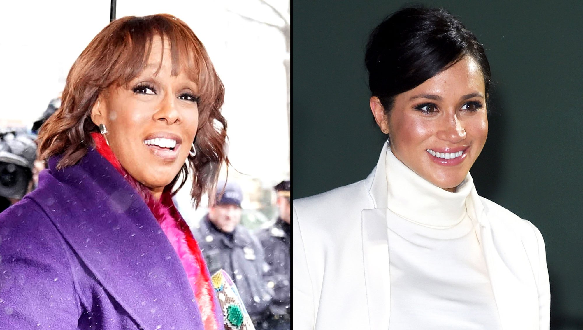 Gayle King Says Duchess Meghan Will Wait Until She's With Prince Harry to Open Baby Shower Gifts