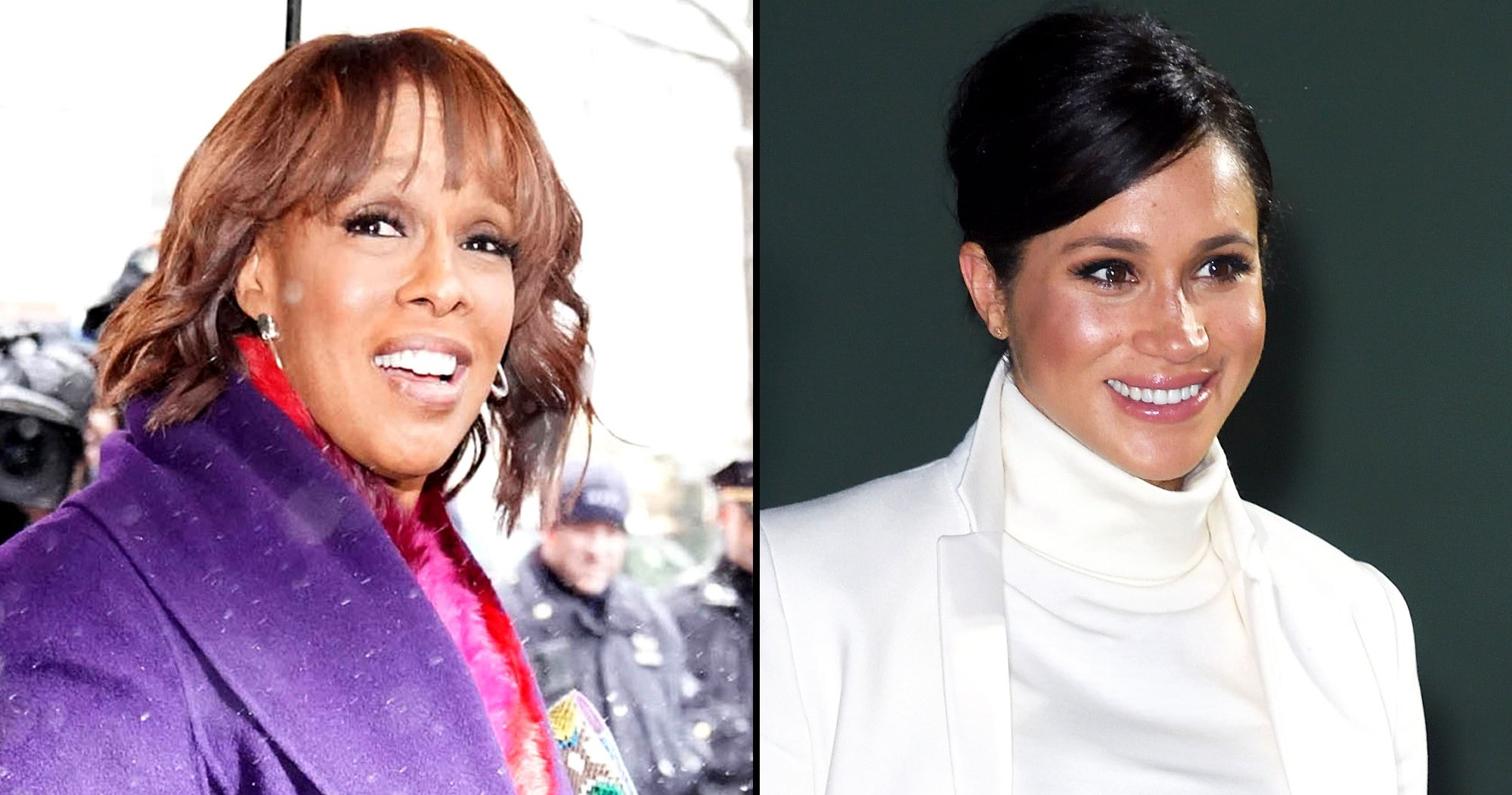 Gayle King: Meghan Will Open Baby Shower Gifts With Harry