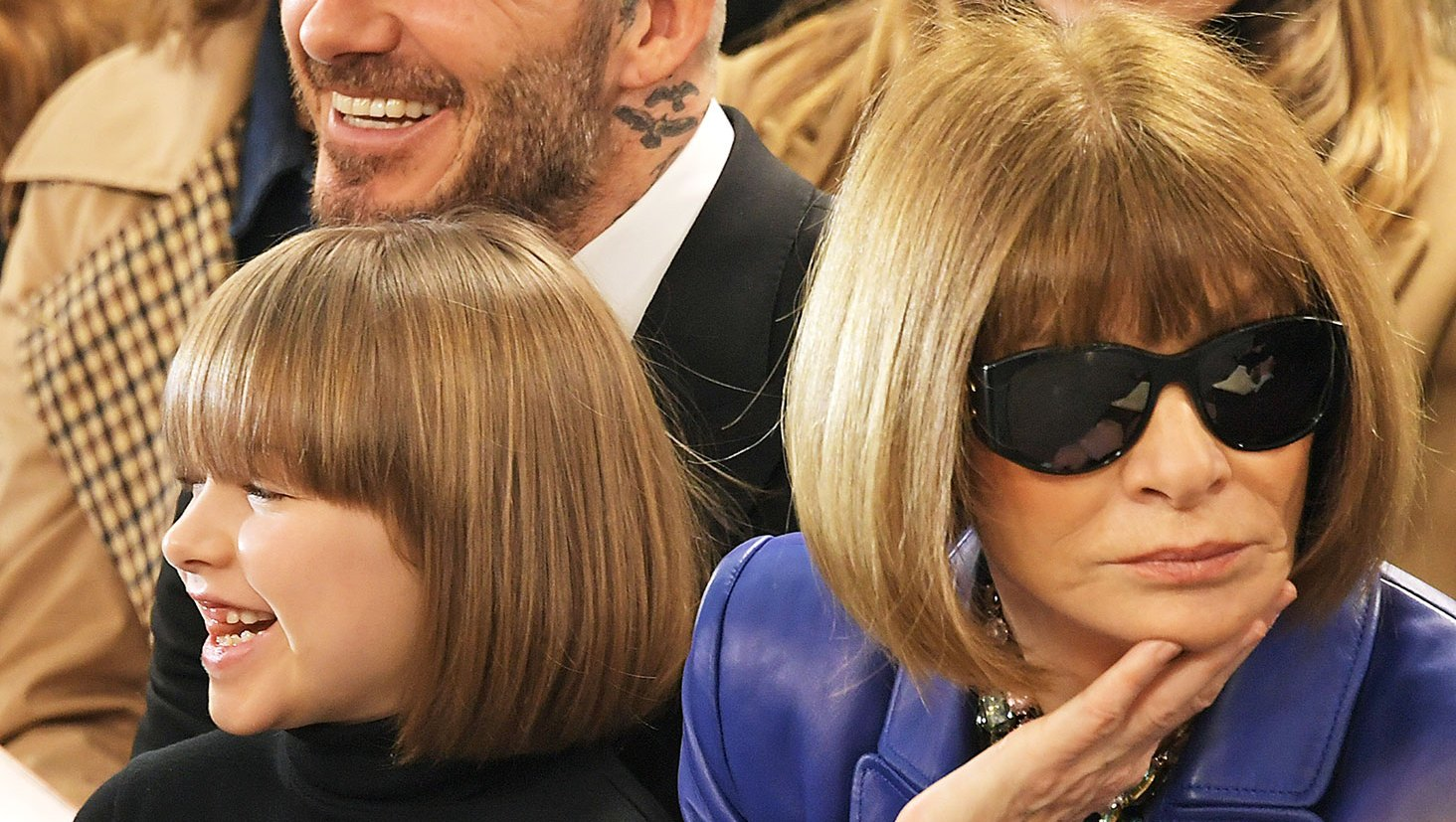 Harper Beckham and Anna Wintour's Twinning Bobs and More Short Hair Inspo