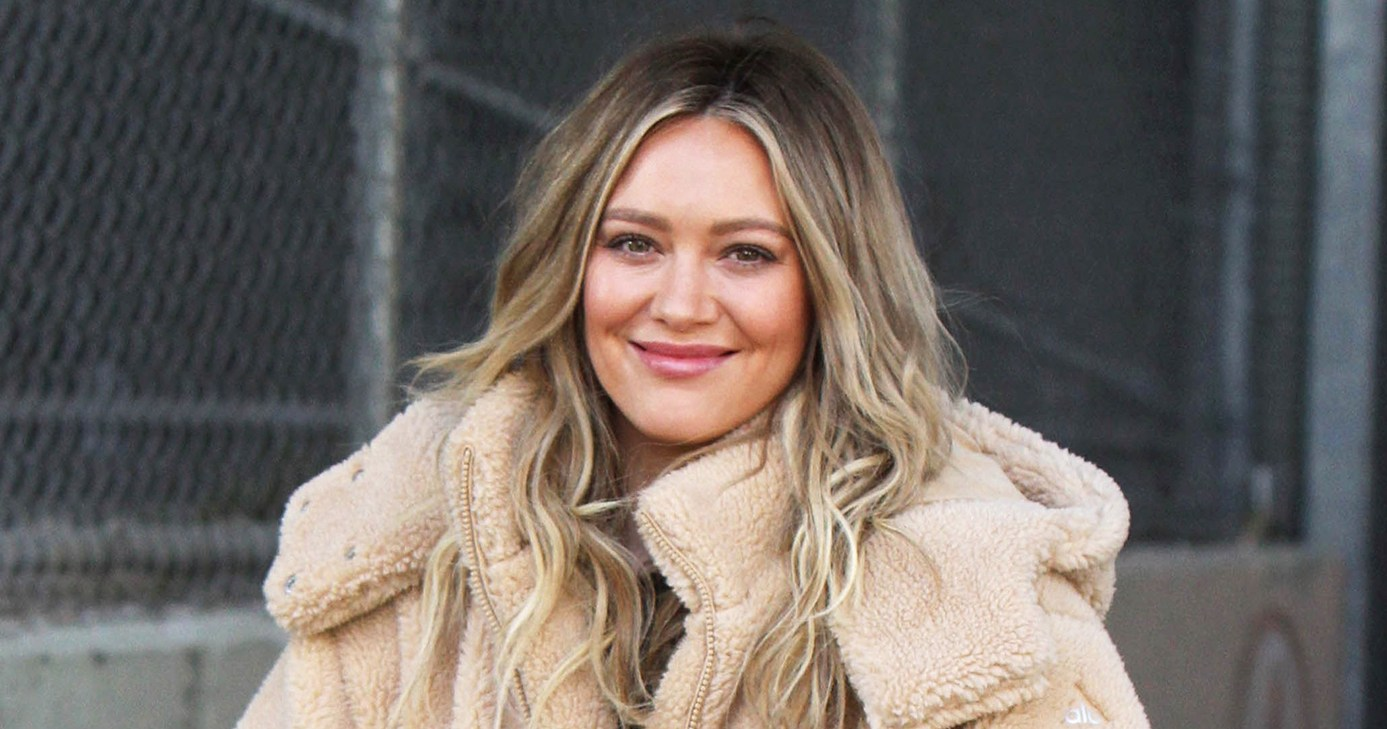 Hilary Duff Brings Daughter to 'Younger' Set for the First Time