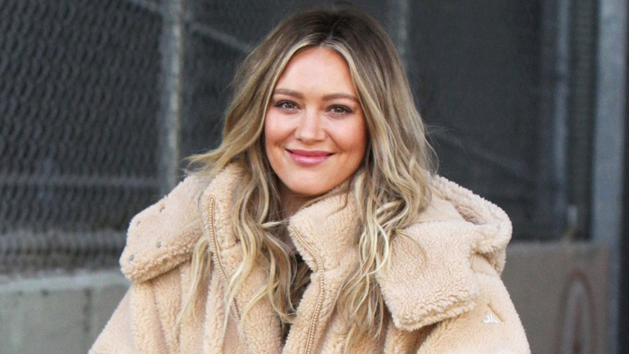 Hilary Duff Brings 3-Month-Old Daughter Banks to 'Younger' Set: 'I Think I Scared Her'
