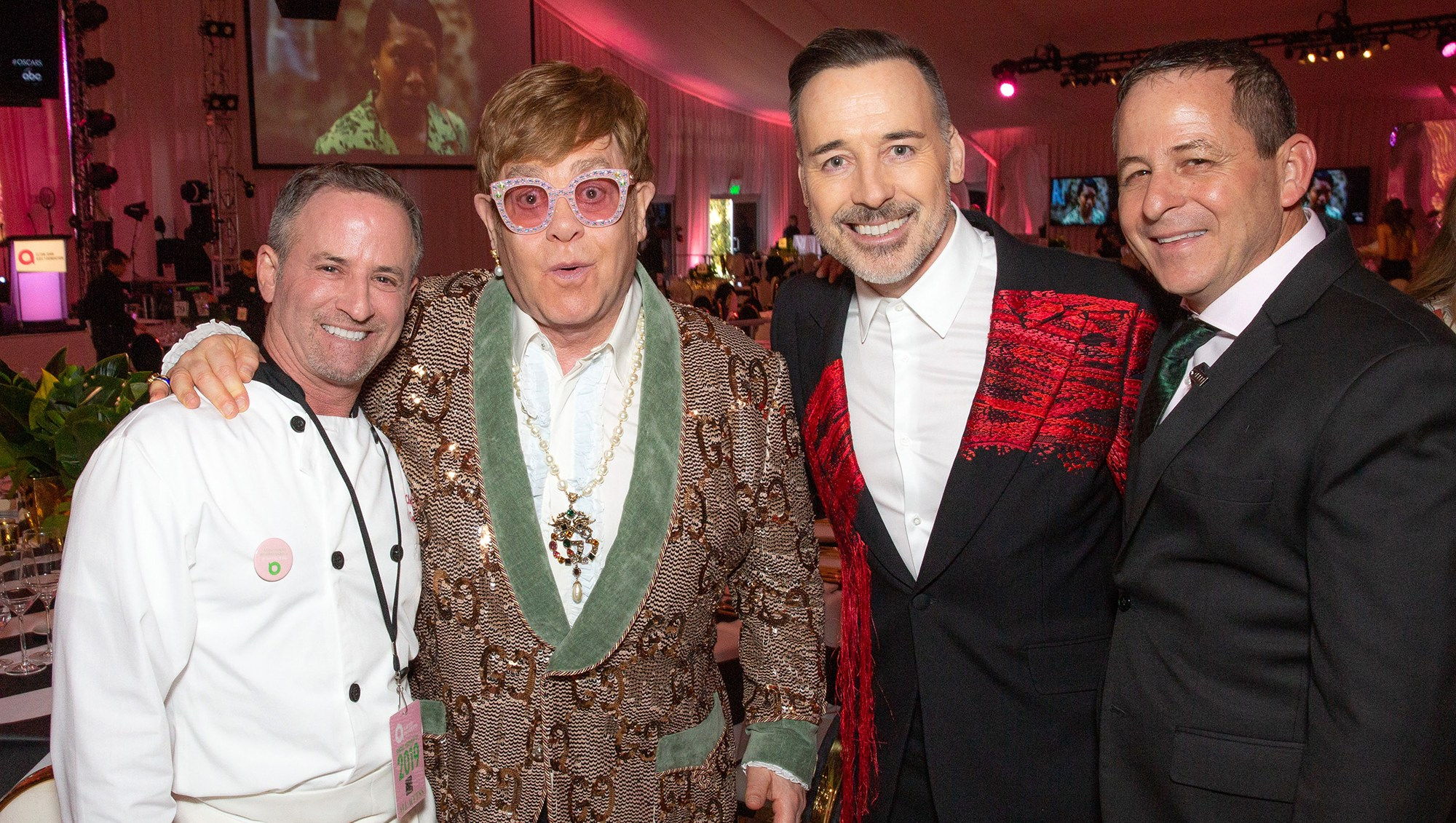Inside Elton John's Oscar Viewing Party With Chef Wayne Elias: 'It's the Busiest Night of the Year'