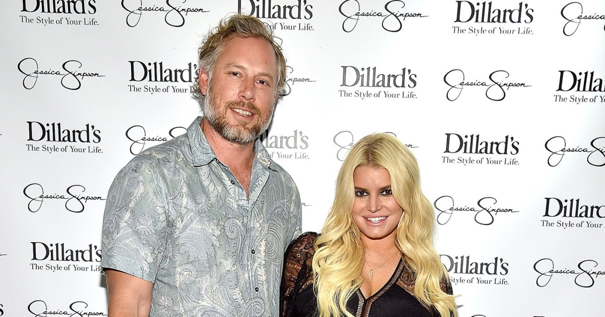 Jessica Simpson Tells Kids to 'Stop Growing' Before Baby's Arrival